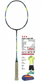 Badmintonová raketa Kawasaki SUPER LIGHT 680